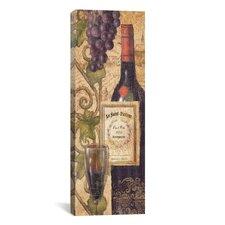 """Wine Tasting VI"" Canvas Wall Art by John Zaccheo"