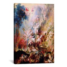 'The Fall of the Damned' by Peter Paul Rubens Painting Print on Canvas