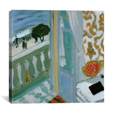 """Henri Matisse """"Windows from the Renaissance to the Present Durer, Monet, Magritte"""" by Henri Matisse Painting Print on Canvas"""