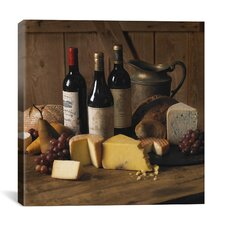 """Wine and Cheese"" Canvas Wall Art by Michael Harrison"