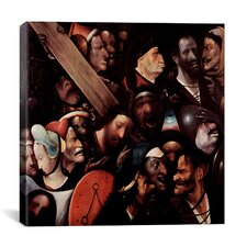 """""""The Carrying of the Cross"""" by Hieronymus Bosch Painting Print on Canvas"""
