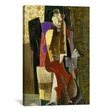 Fine Art 'The Cellist' by Max Weber Painting Print on Canvas