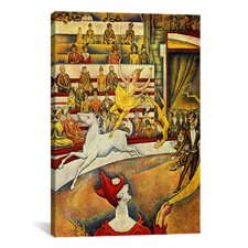 'The Circus 1891' by Georges Seurat Painting Print on Canvas
