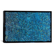 """""""The Blue Staircase Maze"""" Canvas Wall Art by David Russo"""