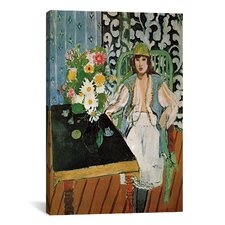 The Black Table by Henri Matisse Painting Print on Canvas