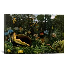 'The Dream 1910' by Henri Rousseau Painting Print on Canvas