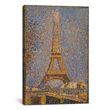 'The Eiffel Tower' by Georges Seurat Painting Print on Canvas