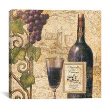 """Wine Tasting III"" Canvas Wall Art by John Zaccheo"