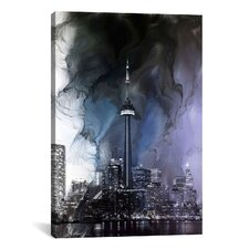 Toronto, Canada Tower 2 Graphic Art on Canvas