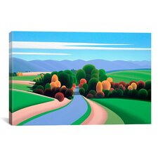 """The Winding Road"" by Ron Parker Graphic Art on Canvas"