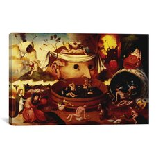 'Tondal's Vision' by Hieronymus Bosch Painting Print on Canvas