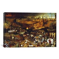 'The Triumph of Death' by Pieter Bruegel Painting Print on Canvas