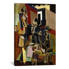 Fine Art 'The Visit' by Max Weber Painting Print on Canvas