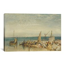 'Venice from Fusina' by Jospeh William Turner Painting Print on Canvas
