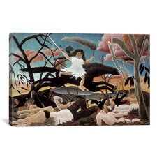 'War (The Horseride of Discord) 1894' by Henri Rousseau Painting Print on Canvas