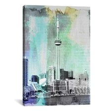 Toronto, Canada Tower 4 Graphic Art on Canvas