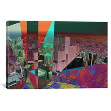 Toronto's Financial District, Canada Graphic Art on Canvas