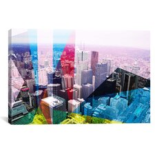 Toronto's Financial District, Canada 2 Graphic Art on Canvas