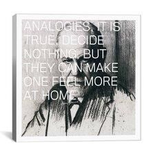 Sigmund Freud Quote Canvas Wall Art