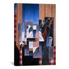 'Violon et Guitare (Violin and Guitar)' by Juan Gris Painting Print on Canvas