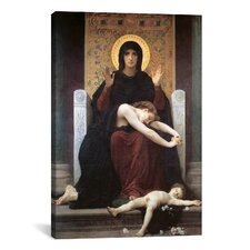 'Virgin Comforter' by William-Adolphe Bouguereau Painting Print on Canvas