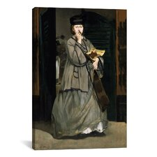 'Street Singer' by Edouard Manet Painting Print on Canvas