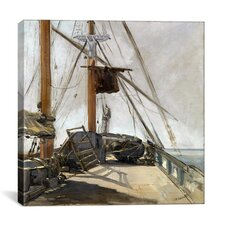 """""""The Ship's Deck"""" Canvas Wall Art by Edouard Manet"""