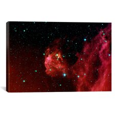 Stars Hatching from Orions Head (Spitzer Space Station) Graphic Art on Wrapped Canvas