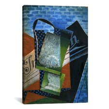 'Still Life (Dedicated to Andre Salmon)' by Juan Gris Painting Print on Canvas