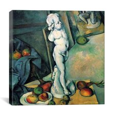 """Still Life with Cherub"" by Paul Cezanne Painting Print on Wrapped Canvas"