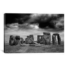 'Stonehenge, England 89' by Monte Nagler Photographic Print on Canvas
