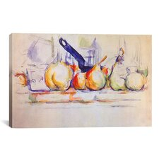 'Still Life with Saucepan, 1902' by Paul Cezanne Painting Print on Wrapped Canvas