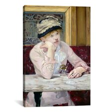 'The Plum (Brandy)' by Edouard Manet Painting Print on Canvas