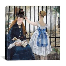 """""""The Railway"""" Canvas Wall Art by Edouard Manet"""
