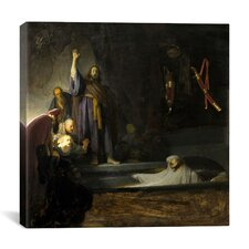 """The Raising of Remberandt"" Canvas Wall Art by Rembrandt"