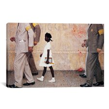 'The Problem We All Live with (Ruby Bridges)' by Norman Rockwell Painting Print on Wrapped Canvas