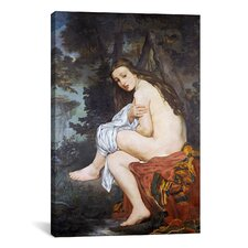 'The Surprised Nymph' by Edouard Manet Painting Print on Canvas