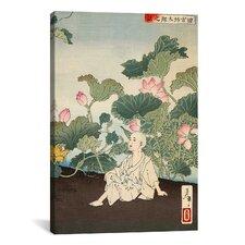 Japanese Art 'The Story of Tamiya Botaro' by Yoshitoshi Painting Print on Canvas