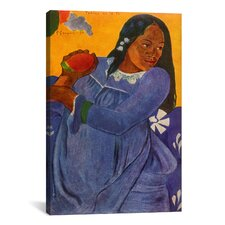 'Woman of The Mango (Vahine no te vi)' by Paul Gauguin Painting Print on Wrapped Canvas