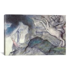 'The Minotaur (Dante Hell XII)' by William Blake Painting Print on Canvas