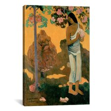 'The Month of Mary (Te Avae No Maria)' by Paul Gauguin Painting Print on Wrapped Canvas