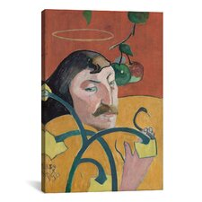 'Self Portrait' by Paul Gauguin Painting Print on Wrapped Canvas