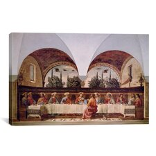 'The Last Supper' by Domenico Ghirlandaio Painting Print on Canvas
