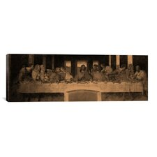 'The Last Supper IV' by Leonardo Da Vinci Painting Print on Canvas