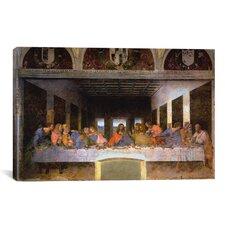'The Last Supper' by Leonardo Da Vinci Painting Print on Canvas