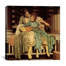"""""""The Music Lesson"""" Canvas Wall Art by Frederick Leighton"""