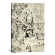 'The Man Tree' by Hieronymus Bosch Painting Print on Wrapped Canvas