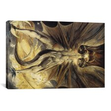 'The Great Red Dragon 1805-1810' by William Blake Painting Print on Canvas