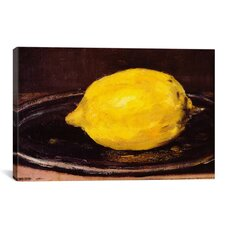 'The Lemon' by Edouard Manet Painting Print on Wrapped Canvas