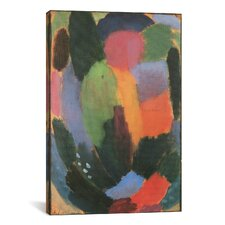 'Song' by Alexej Von Jawlensky Painting Print on Canvas